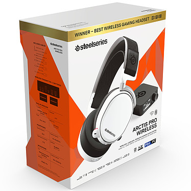SteelSeries Arctis Pro Wireless Blanc pas cher