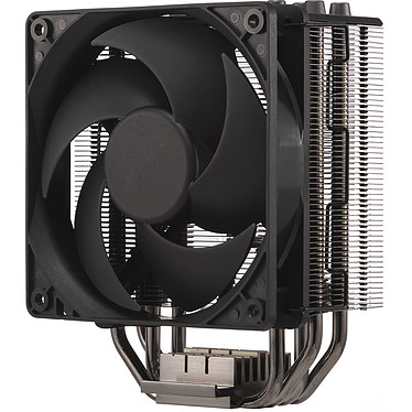 Cooler Master Hyper 212 Black Edition Ventilateur pour processeur (pour socket Intel 1150 / 1151 / 1155 / 1156 / 1366 / 2011 / 2011-3 / 2066 et AMD FM1 / FM2 / FM2+ / AM3+ / AM3 / AM2+ / AM2)