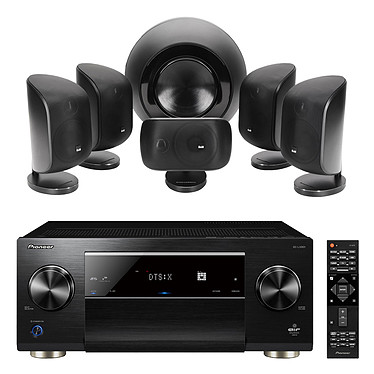 Pioneer SC-LX801 Noir + B&W MT-60 Noir