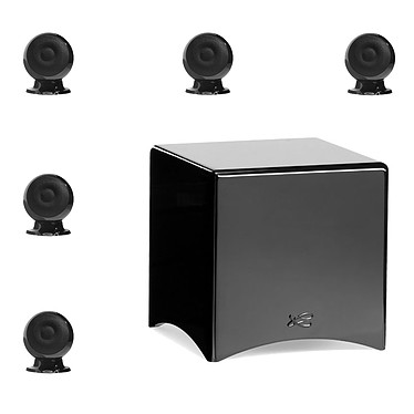Denon AVR-X2500H Noir + Cabasse pack Eole 3 5.1 WS Noir pas cher
