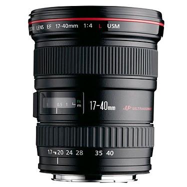 Canon EF 17-40mm f/4L USM Zoom grand angle professionnel