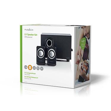 Nedis 2.1 Speaker Set (16W) pas cher