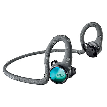 Plantronics BackBeat FIT 2100 Gris Casque intra-auriculaire sport sans fil Bluetooth 5.0 avec commandes et micro - IP57