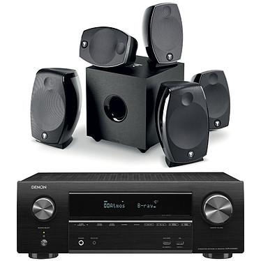 Denon AVR-X1500H Noir + Focal Sib Evo 5.1.2 Dolby Atmos