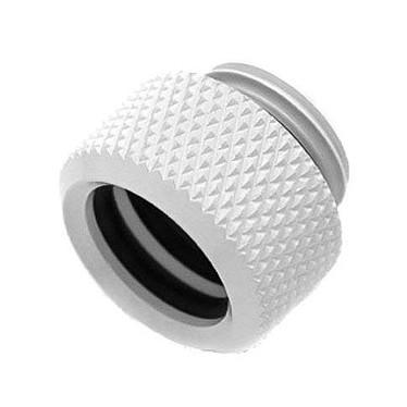 """Barrow Embout pour tube rigide de 16mm - Blanc Embout avec filetage 1/4"""" - 14/16 mm (coloris blanc)"""