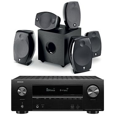 Denon AVR-X2500H Noir + Focal Sib Evo 5.1.2 Dolby Atmos