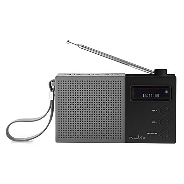 Nedis RDDB2210 Noir Radio numérique portable FM/DAB+ 4.5W