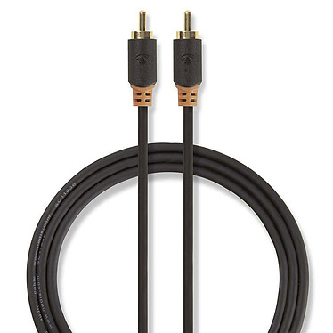 Nedis Câble Audio Numérique RCA - 2m