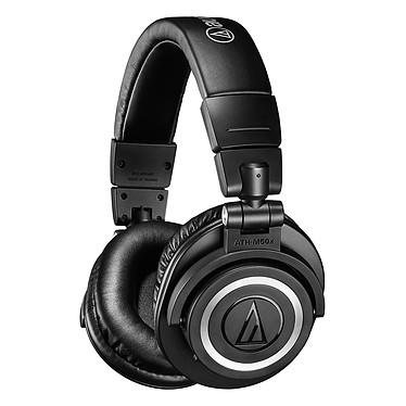 Audio-Technica ATH-M50xBT Casque circum-auriculaire fermé sans fil Bluetooth 5.0 avec commandes et micro