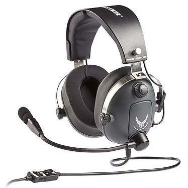 Thrustmaster T.Flight U.S. Air Force Edition Casque-micro pour gamer (PC/MAC/Consoles/Smartphone/Tablette)