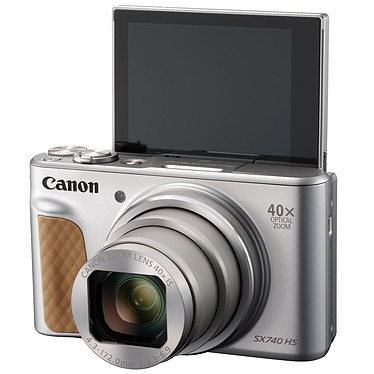 Avis Canon PowerShot SX740 HS Argent + Etui + Gorillapod