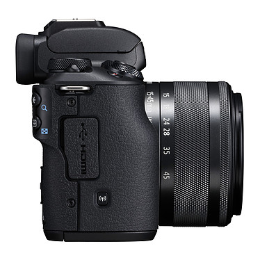 Avis Canon EOS M50 Noir + EF-M 15-45 mm IS STM Noir + SB130 + SanDisk SD 16 Go