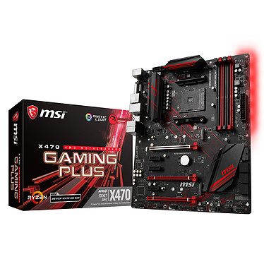 Avis AMD Ryzen 7 2700X Wraith Prism Edition (3.7 GHz) + MSI X470 GAMING PLUS