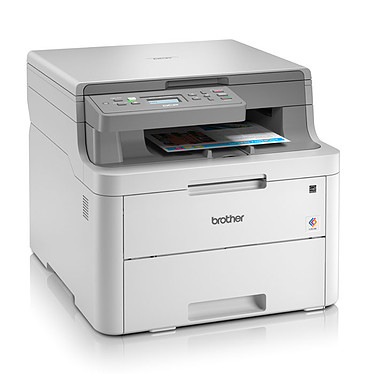 Brother DCP-L3510CDW Imprimante multifonction laser couleur 3-en-1 recto-verso (USB 2.0/Wi-Fi)
