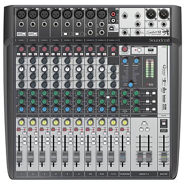 Soundcraft Signature 12 MTK Console de mixage 12 voies avec 8 préamplis micro, USB multicanal et effets Lexicon