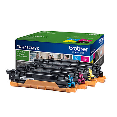 Brother TN-243CMYK (Noir, Cyan, Magenta, Jaune)