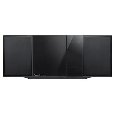 Panasonic SC-HC49EG Noir Micro-chaîne CD/MP3 Bluetooth, NFC, avec station d'accueil iPhone/iPod et port USB