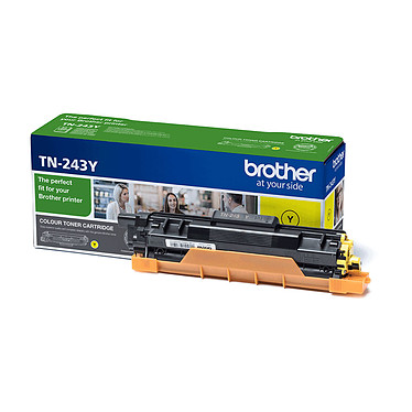 Brother TN-247Y Toner Jaune (2300 pages à 5%)
