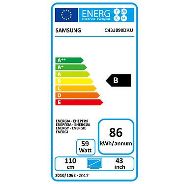 "Samsung 43.4"" LED - C43J890DKU pas cher"
