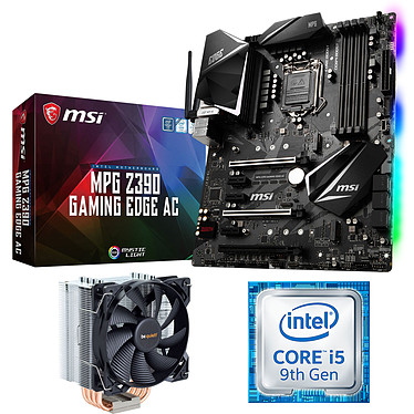 Kit Upgrade PC Core i5 MSI Z390 GAMING EDGE AC