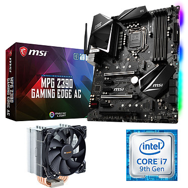 Kit Upgrade PC Core i7 MSI Z390 GAMING EDGE AC