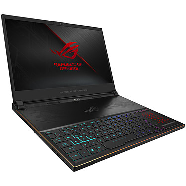 "ASUS ROG Zephyrus S GX535GXR-Z086R Intel Core i7-9750H 16 Go SSD 1 To 15.6"" LED Full HD 240 Hz NVIDIA GeForce RTX 2080 8 Go Wi-Fi AC/Bluetooth Webcam Windows 10 Professionnel 64 bits"