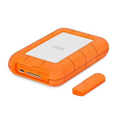 LaCie Rugged RAID Pro (4 To) Disque dur externe antichoc 2.5'' sur ports USB 3.0 type-C avc lecteur de carte SD inclus