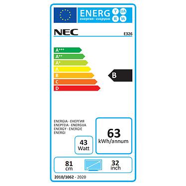 """Opiniones sobre NEC 32"""" LED - MultiSync E326"""