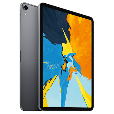 "Apple iPad Pro (2018) 11 pouces 512 Go Wi-Fi Gris Sidéral Tablette Internet - Apple A12X Bionic 64 bits - 4 Go - eMMC 512 Go - Écran 11"" LED IPS tactile - Wi-Fi AC / Bluetooth - Webcam - USB-C - iOS 12"