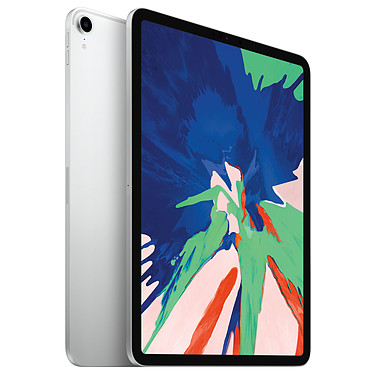 "Apple iPad Pro (2018) 11 pouces 1 To Wi-Fi Argent Tablette Internet - Apple A12X Bionic 64 bits - 6 Go - eMMC 1 To - Écran 11"" LED IPS tactile - Wi-Fi AC / Bluetooth - Webcam - USB-C - iOS 12"