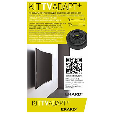 ERARD Kit TV Adapt+ Kit de adaptación para pantallas curvas e irregulares