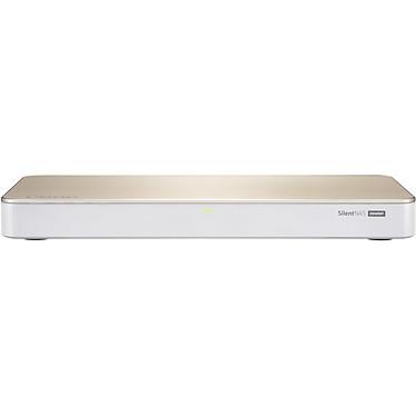 """QNAP HS-453DX-8G Serveur NAS multimédia sans ventilateur - 4 baies (2 x 3.5"""" + 2 x M.2) - 8 Go DDR4 - Intel Celeron J4105 (sans disque dur)"""