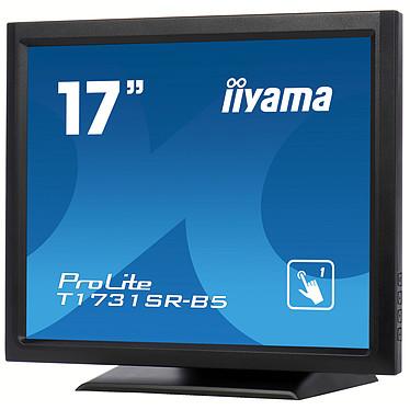 "iiyama 17"" LCD Tactile Résistive - ProLite T1731SR-B5 pas cher"