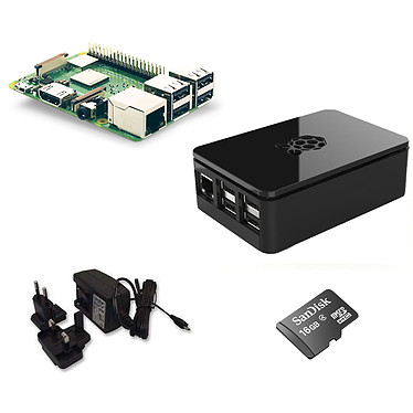 Raspberry Pi 3+ Starter Kit Noir