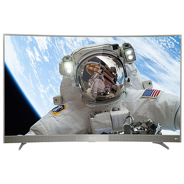 "Thomson 55UC6596 Téléviseur incurvé LED Ultra HD 55"" (140 cm) 16/9 - 3840 x 2160 pixels - Ultra HD - HDR - Wi-Fi - Android TV - Bluetooth - DLNA - 1500 Hz"