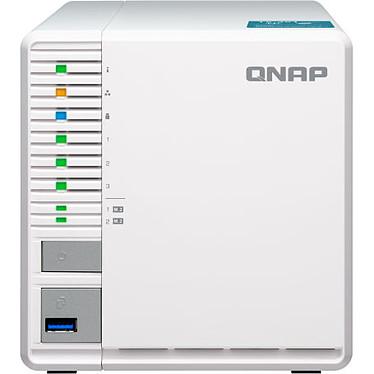 """QNAP TS-351-4G Serveur NAS 3 baies 2.5""""/3.5"""" + 2 slots M.2 - 4 Go de RAM - Intel Celeron J1800 (sans disque dur)"""