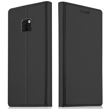 Akashi Etui Folio Porte Carte Noir Huawei Mate 20 Etui folio avec porte carte pour Huawei Mate 20