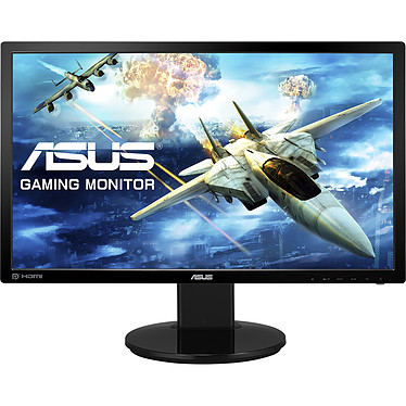"ASUS 24"" LED - VG248QZ 1920 x 1080 pixels - 1 ms (gris à gris) - Dalle TN - Format large 16/9 - 144 Hz - HDMI/DVI/DisplayPort - 2 x 2 Watts - Pivot"