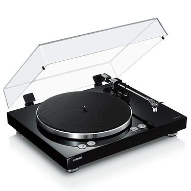 Yamaha MusicCast VINYL 500 Noir Platine vinyle multiroom à 2 vitesses (33-45 trs/min) avec pré-ampli intégré, Bluetooth, Wi-Fi et AirPlay