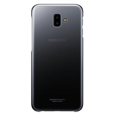 Samsung Gradation Cover Negro Galaxy J6+ Contraportada para Samsung Galaxy J6+