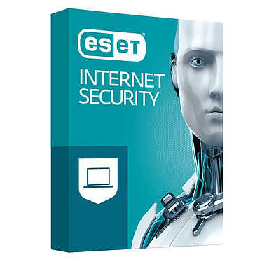 ESET Internet Security 2019 (1 an 3 postes) Antivirus - Licence 1 an 3 postes (français, Windows)