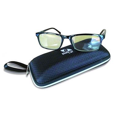 BlueCat Screen Glasses LBCSM1 Lunettes anti lumière bleue avec protection UV - monture noire