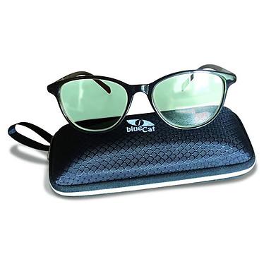 BlueCat Screen Glasses LBCSF1 Lunettes anti lumière bleue avec protection UV - monture noire