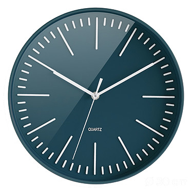 CEP Atoll Bleu Horloge quartz de 30 cm de diamètre