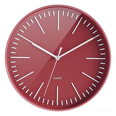 CEP Atoll Rouge Horloge quartz de 30 cm de diamètre