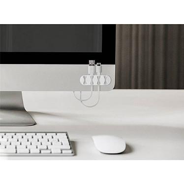 Acheter Goobay 4 Slot Cable Management - Blanc