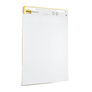 Avis Post-it Lot de 2 Meeting Charts 635 mm x 775 mm + 1 OFFERT !