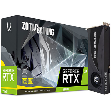 ZOTAC GeForce RTX 2070 Blower Edition 8 Go GDDR6 - HDMI/Tri DisplayPort/DVI - PCI Express (NVIDIA GeForce RTX 2070)