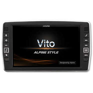 Alpine X902D-V447 Système multimédia Apple CarPlay, Android Auto avec écran tactile 9 pouces, cartes TomTom 48 pays, HDMI, port USB et entrée AUX pour Mercedes Vito 447