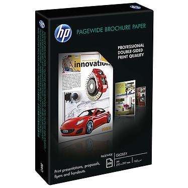 HP PageWide Brochure - Z7S67A Papier brillant pour brochures A4 - 200 feuilles